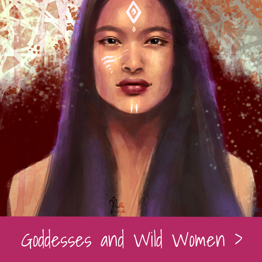 Ruth Krijah Art Gallery Goddesses and Wild Women
