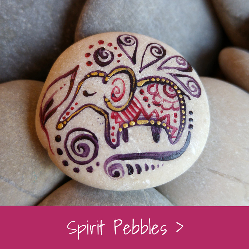 Ruth Krijah Art Gallery Spirit Pebbles
